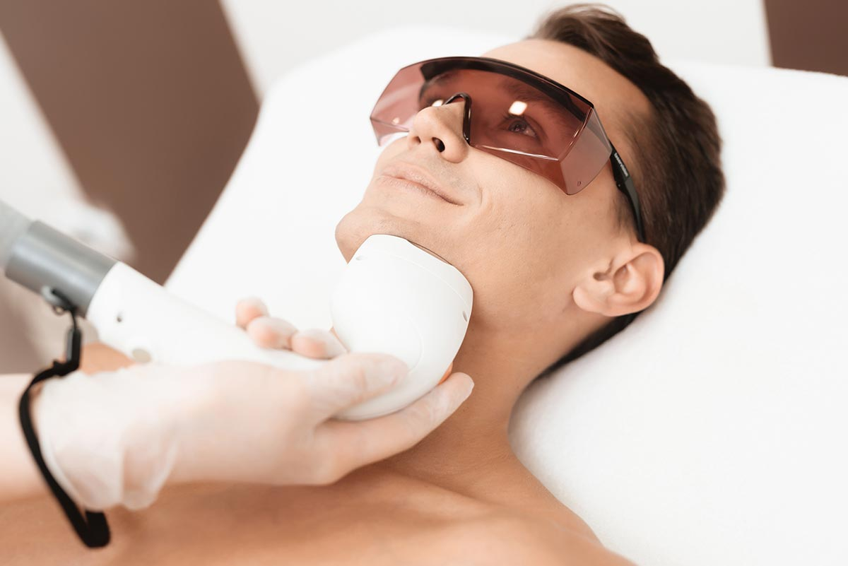 IPL men's hair removal